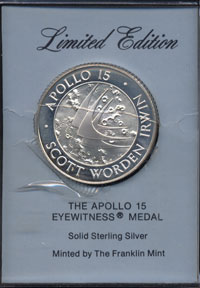 Apollo 15 Eyewitness Medal