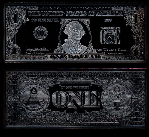 1999 The Washington Mint Complete Silver Currency Set
