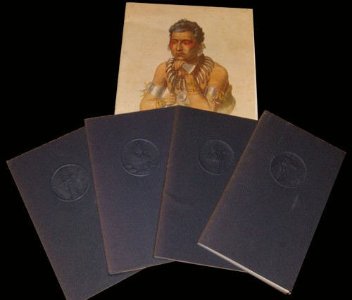 1971-1976 Franklin Mint's Indian Tribes Proof Silver Set