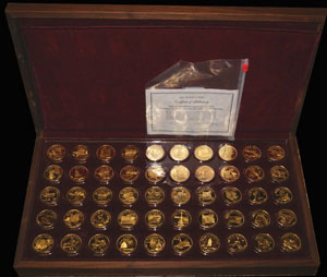 Franklin Mint's Governor's Edition of the States of the Union Series