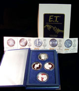 E.T. The Extra-Terrestrial Rarities Mint 4-Piece Proof Sets