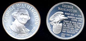 Franklin Mint Presidential Treasury Se