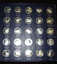 Franklin Mint's States of the Union Collection
