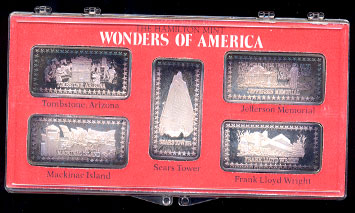 Hamilton Mint S Wonders Of America Series