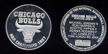 Chicago Bulls 1997 NBA Champions