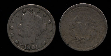 "Liberty Head ""V"" Nickels"