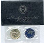 "Uncirculated ""Blue"" Ike"