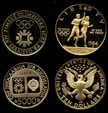 1984 Olympic Medals