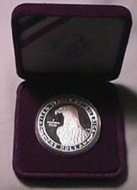 1983 Olympic Silver Dollar