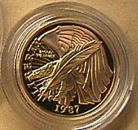 Proof Constitution $5 Gold Coin