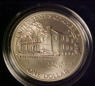 1990 Eisenhower Dollar Uncirculated