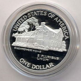 1990 Eisenhower Dollar Proof