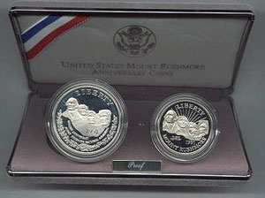 1991 Mt. Rushmore Commemorative Coins