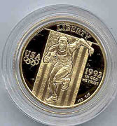 1992 Olympic Five Dollar Gold Proof Coin