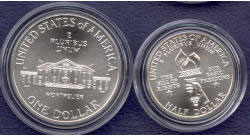 1993 Bill Of Rights Two Coin Uncirculated Set