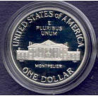 1993 Bill Of Rights  Proof Silver Dollar