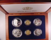 1993 Bill Of Rights Six Coin  Set