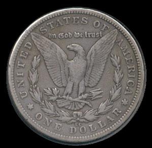 1889-CC Morgan Silver Dollar VF-20 Details